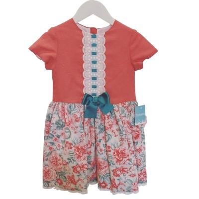 Tartaleta Coral Floral Dress