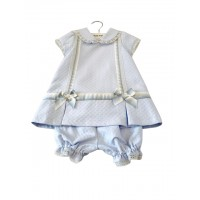 Girls Dress & Bloomers Set