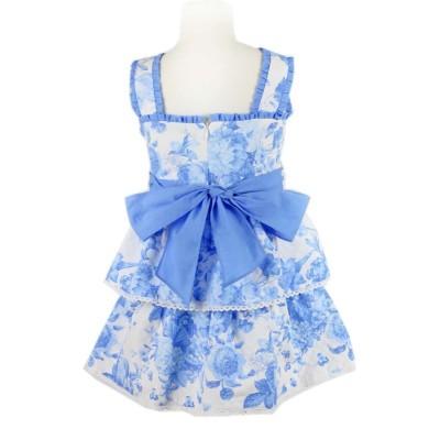 Tartaleta White/blue Ra Ra dress