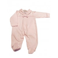 Pink Bow Baby Grow