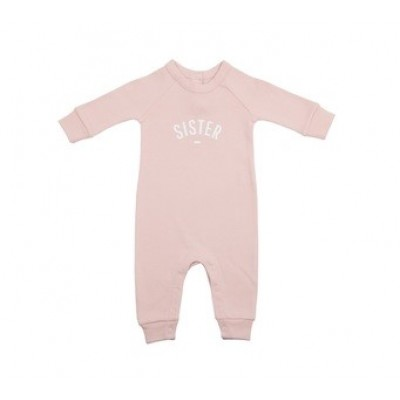 Pink Sister Baby grow