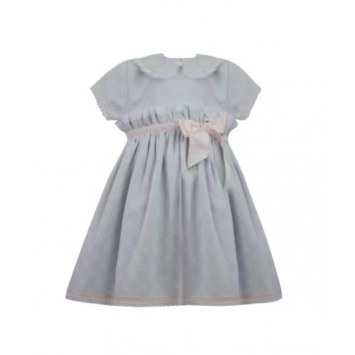 Girls Traditional Dress - Grey