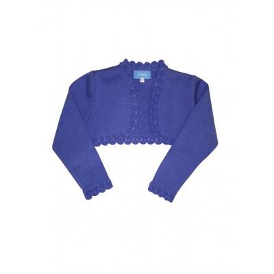 Tartaleta Blue bolero knitted cardigan