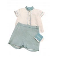 Aqua Boys Shorts Set