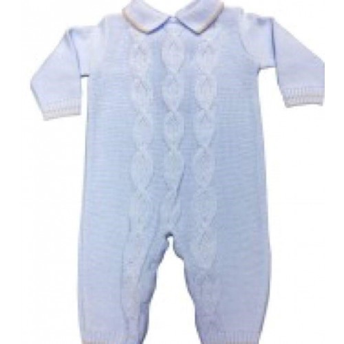 Boys Knittedd Romper With Socks