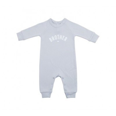 Mouse Grey 'Brother' Romper