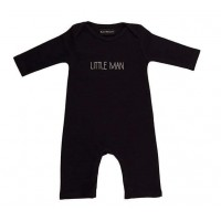 Bob & Blossom Navy 'little Man' Romper
