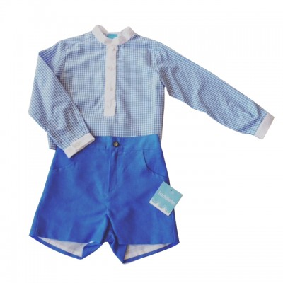 Tartaleta Check Shirt & Linen Shorts