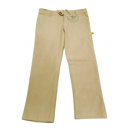 Beige Cord Trousers