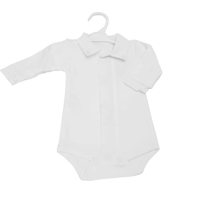White Shirt Bodysuit