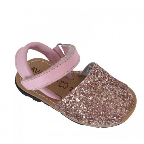 Pink Spanish Glitter Shoe