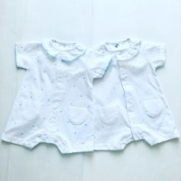 Boys Frill Neck Star Romper