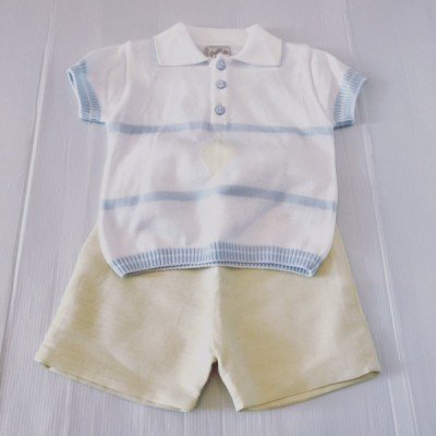 Boys Lemon Shorts & Top Set