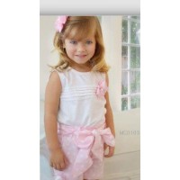 Rose Bud Vest Top & Shorts Set