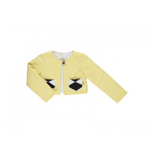 Girls Yellow/Black Jacket