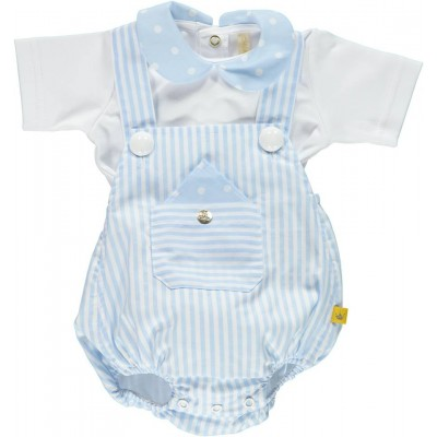 CHUA Boys Dungaree Set