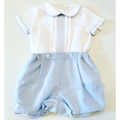 Boys Shorts And Shirt Set