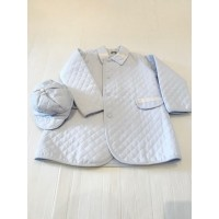 Boys Coat & Matching Hat Set