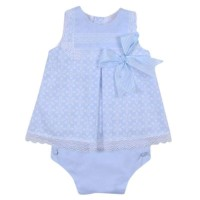 Baby Blue Dress & Knickers Set