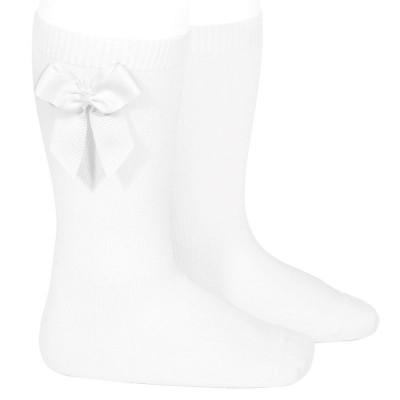 CONDOR WHITE LONG SOCKS