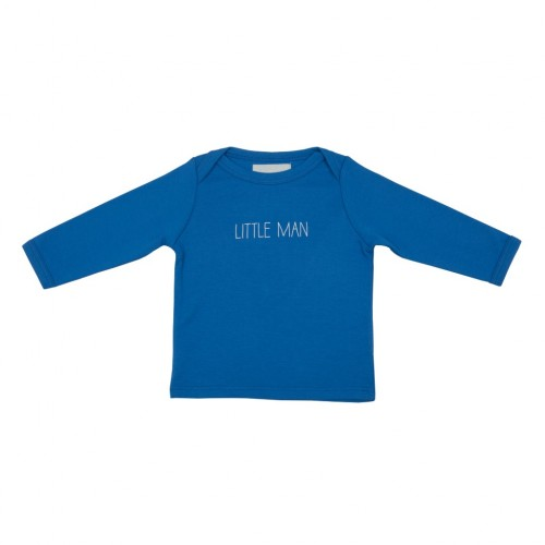 Sky Blue 'Little Man' Baby T Shirt