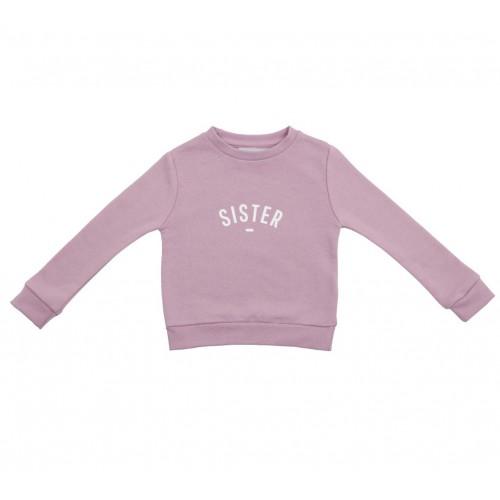 Dusty Violet 'Sister' Sweatshirt