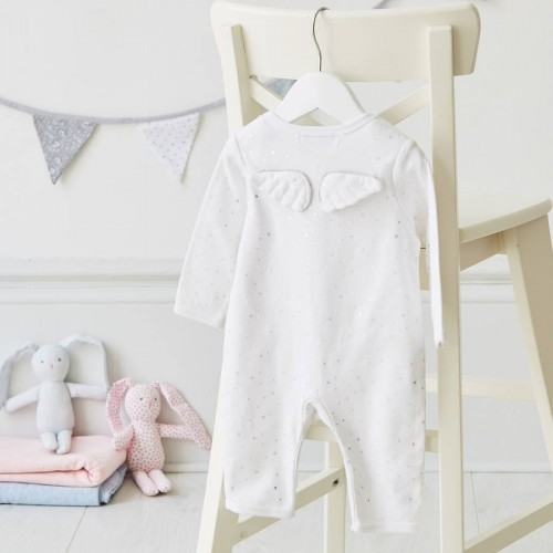 Angel Wings  Baby Romper
