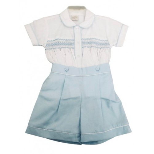 BOYS SUMMER SHIRT & SHORTS SET