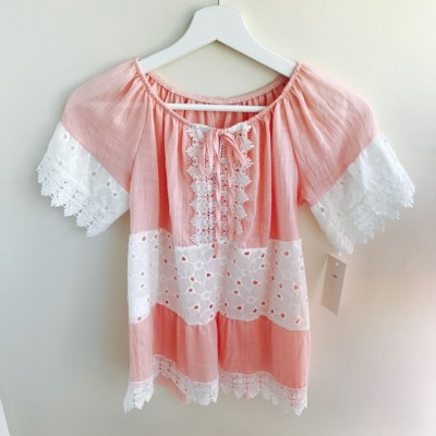 GIRLS LACE GYPSY TOP