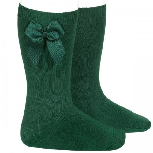 Condor Bottle Green Long Bow Socks