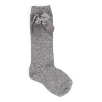 Long Bow Socks Grey