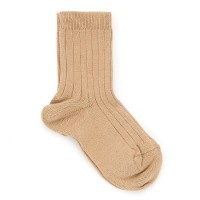CONDOR BOYS RIBBED SOCKS CAMEL