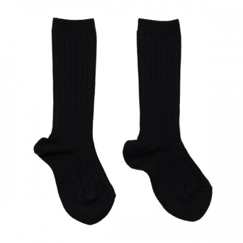 Condor Boys Navy Ribbed Socks