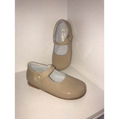 PRETTY ORIGINALS Sand  Mary Jane Shoes