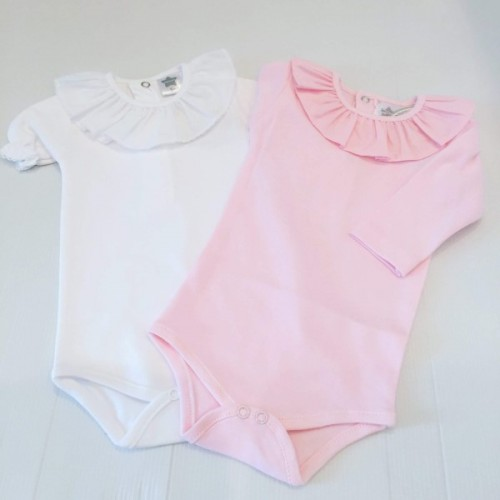 Frill Neck Body Suit