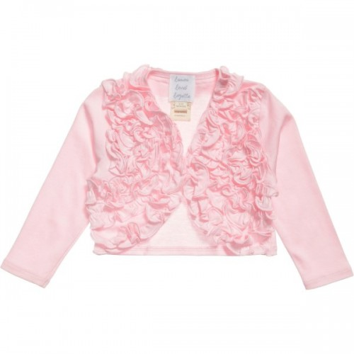 Girls Ruffle Cardigan