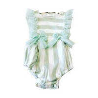 Baby Girls All In One Suit - Mint