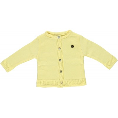 Chua Yellow Cardigan