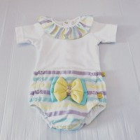 Girls Pastel Jam Pant Set