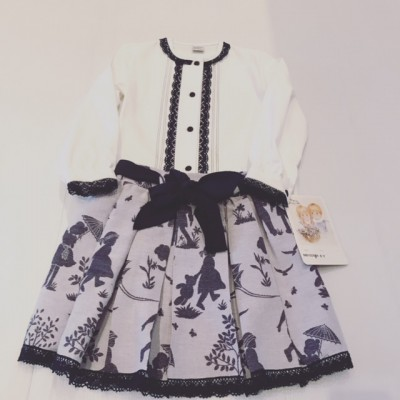 GIRLS SKIRT AND BLOUSE SET