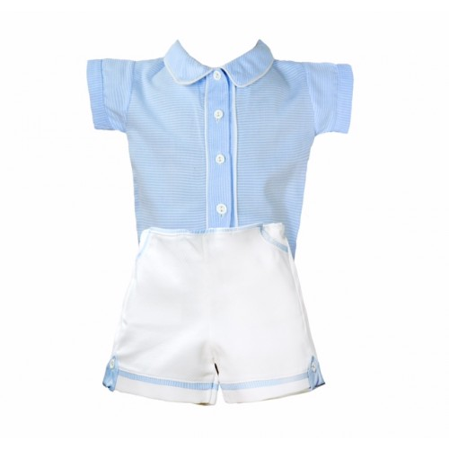 Boys Shirt And Shorts Set