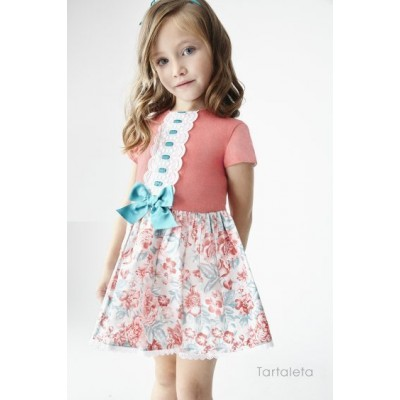 Tartaleta Coral Floral Dress