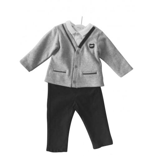Boys 3 Piece Trouser Set