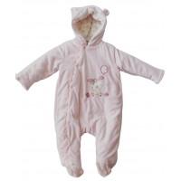 Pink Bunny Pram Suit