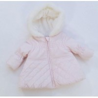 Baby Girls Pink Hooded Coat