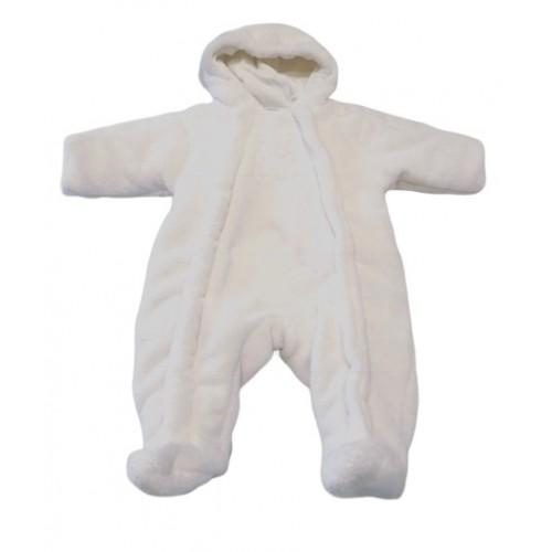Babies Cream Pram Suit