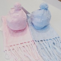 BABY & TODDLER  HAT AND SCARF SETS
