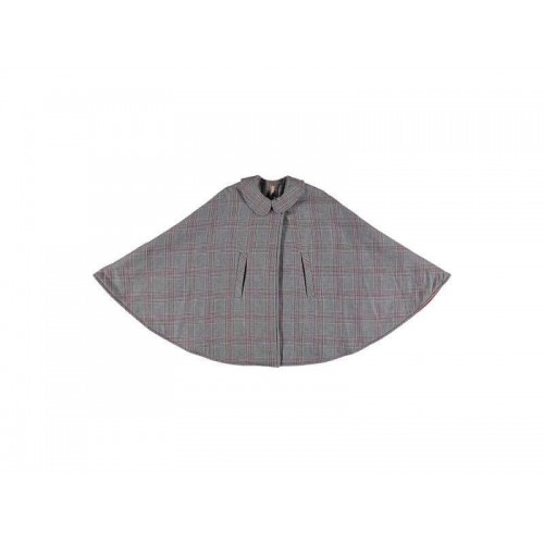 Prince Of Wales Check Cape