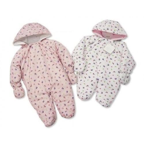 Baby Girls Snowsuit