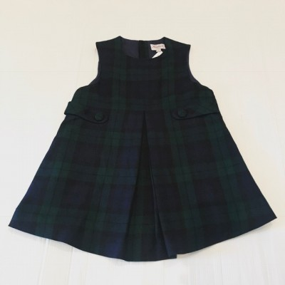 GIRLS TARTAN DRESS